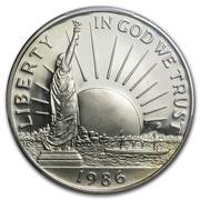 ½  dollar Statue de la Liberté -  avers