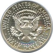 "½  dollar ""Kennedy Half Dollar"" (argent 900‰) -  revers"