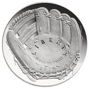 National Baseball Hall of Fame Half Dollar Coin -  avers