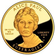 10 Dollars (Alice Paul ; Bullion Coinage) -  avers