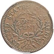 "1 Cent ""1795 Liberty Cap"" (Pattern) – revers"