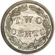 2 cents (Essai) – revers