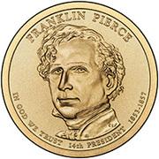 1 Dollar (Franklin Pierce) -  avers