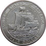 ½ dollar Colomb -  avers