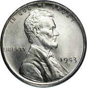 """1 cent """"Steel Penny"""" – avers"""