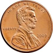 1 cent Lincoln - Formative Years in Indiana -  avers