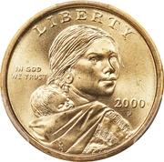 1 dollar Sacagawea -  avers