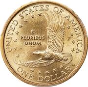 1 dollar Sacagawea -  revers