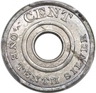 """1 Cent """"Ring Cent"""" (Pattern) – revers"""
