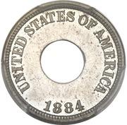 """1 cent """"Holey Cent"""" (Essai) – avers"""