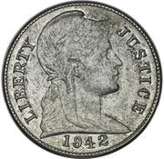 """1 cent """"1942"""" (Essai) – avers"""