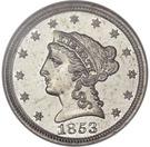 1 Cent (Pattern) – avers