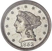 1 Cent (Pattern) -  avers