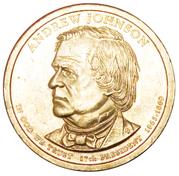 1 Dollar (Andrew Johnson) -  avers