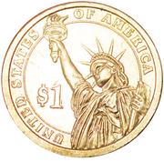 1 Dollar (Andrew Johnson) -  revers