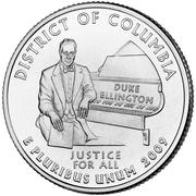 "¼ dollar ""Quarter District de Columbia"" (cupronickel) -  revers"