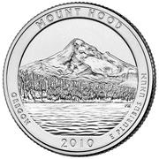 "¼ Dollar "" Quarter Mount Hood"" (cupronickel) -  revers"