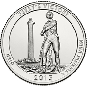 "¼ Dollar ""Washington Quarter"" (Perry's Victory) -  revers"