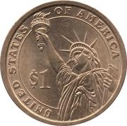 1 Dollar (Thomas Jefferson) -  revers