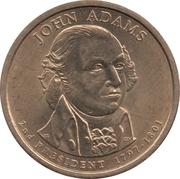 1 Dollar (John Adams) -  avers