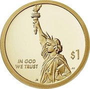 1 Dollar (American Innovation Introductory Coin) -  avers