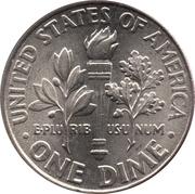 "10 cents ""Roosevelt Dime"" -  revers"