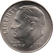 "10 cents ""Roosevelt Dime"" -  avers"