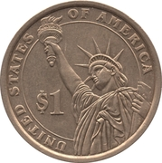 1 Dollar (James K. Polk) -  revers