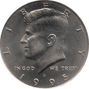 "½  dollar ""Kennedy Half Dollar"" (cupronickel) -  avers"