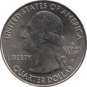 ¼ Dollar ''Washington Quarter'' (Harpers Ferry National Historical Park, West Virginia) -  avers