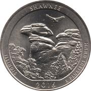 ¼ Dollar ''Washington Quarter'' (Shawnee National Forest, Illinois) -  revers