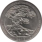 """¼ Dollar """"Washington Quarter"""" (Great Basin, Nevada) -  revers"""