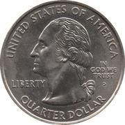 "¼ Dollar ""Quarter Massachusetts"" (cupronickel) -  avers"