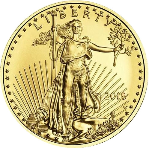 5 Dollars American Gold Eagle États