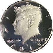 """½ Dollar """"Kennedy Half Dollar"""" (Silver Proof Issue) -  avers"""