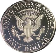 "½ Dollar ""Kennedy Half Dollar"" (Silver Proof Issue) -  revers"