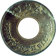 """1 Cent """"Ring Cent"""" (Pattern) -  avers"""