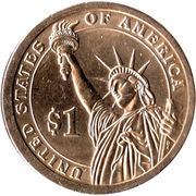 1 Dollar (Rutherford B Hayes) -  avers