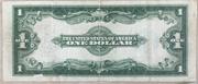 """""""Horse Blanket"""" Silver Certificate Series 1923 -  revers"""