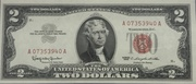 2 Dollars (Small Size United States Note; Red Seal Right; With Motto) -  avers