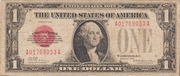 1 Dollar (Small Size United States Note) – avers