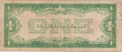 1 Dollar (Small Size United States Note) – revers