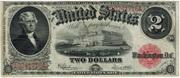 US 2 dollar bill 1917 -  avers