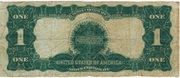 US dollar 1899 – revers