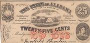 25 cents Alabama – avers