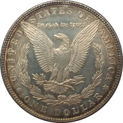 """1 dollar """"Morgan Dollar"""" -  revers"""