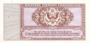 5 Cents - Military Payment Certificate - Series 472 – revers