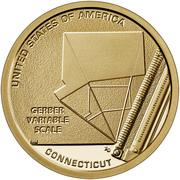 1 Dollar American Innovation -  Connecticut -  avers