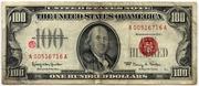 100 Dollars (United States Note) – avers