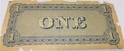 1 Dollar (Serie 1864) – revers